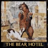 The Bear Hotel sign
