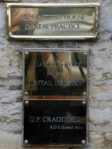 Woodstock Dental Practice sign