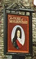 Duke of Marlborough sign