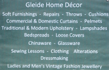 Gleide Home Decor sign