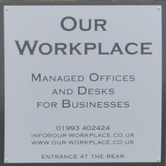 Ourworkplace sign