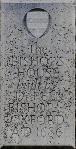 Bishops House plaque