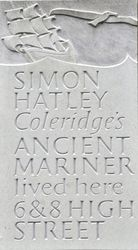Ancient Mariners House plaque