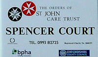 Spencer Court sign