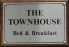The Townhouse sign