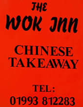 The Wok Inn sign